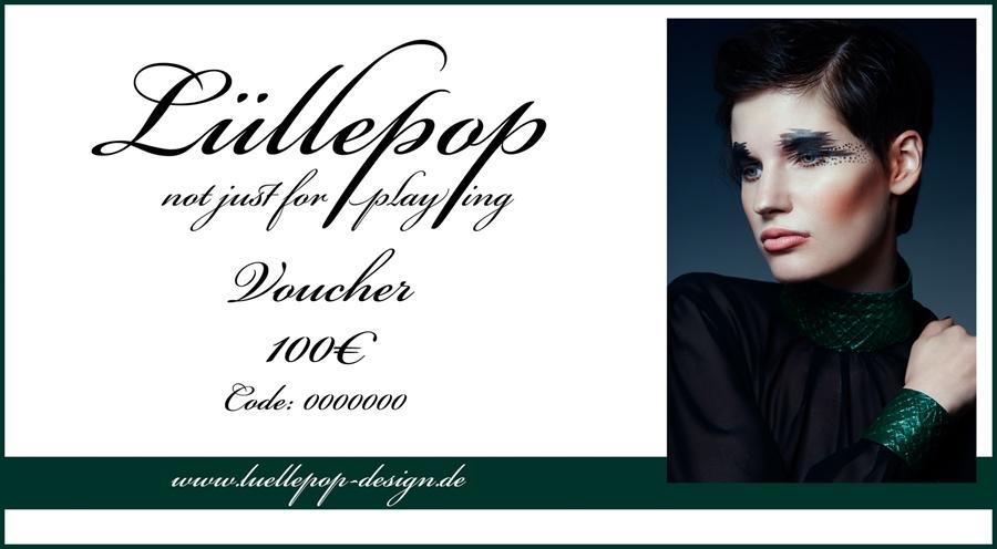 Voucher for 100 Euro