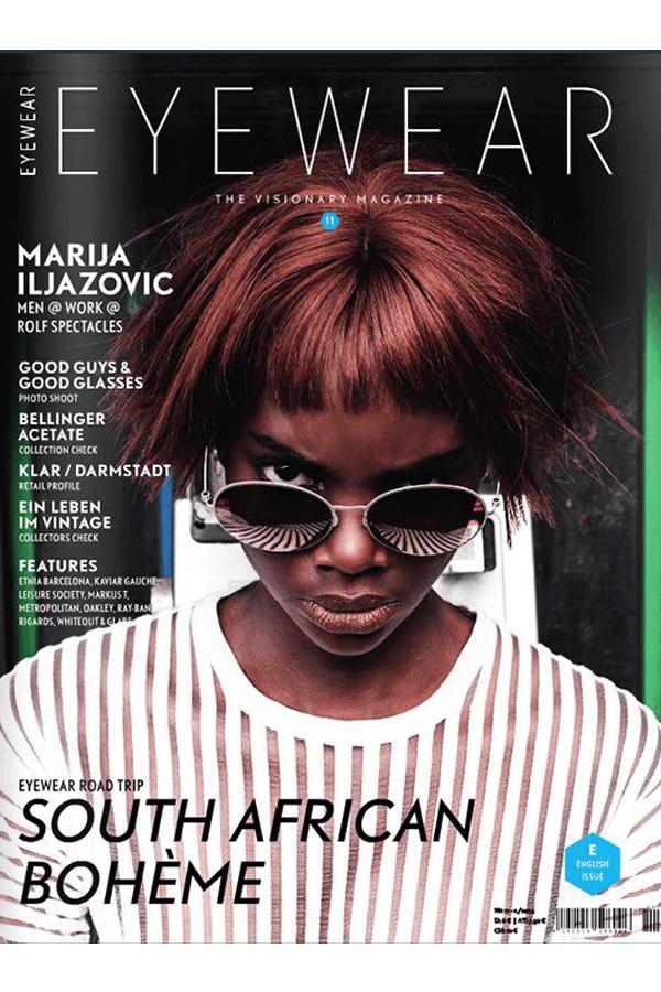 Editorial mit Lüllepop im Eyewear Magazine