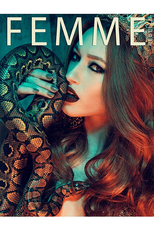 Editorial mit Lüllepop im Femme Rebelle Magazine