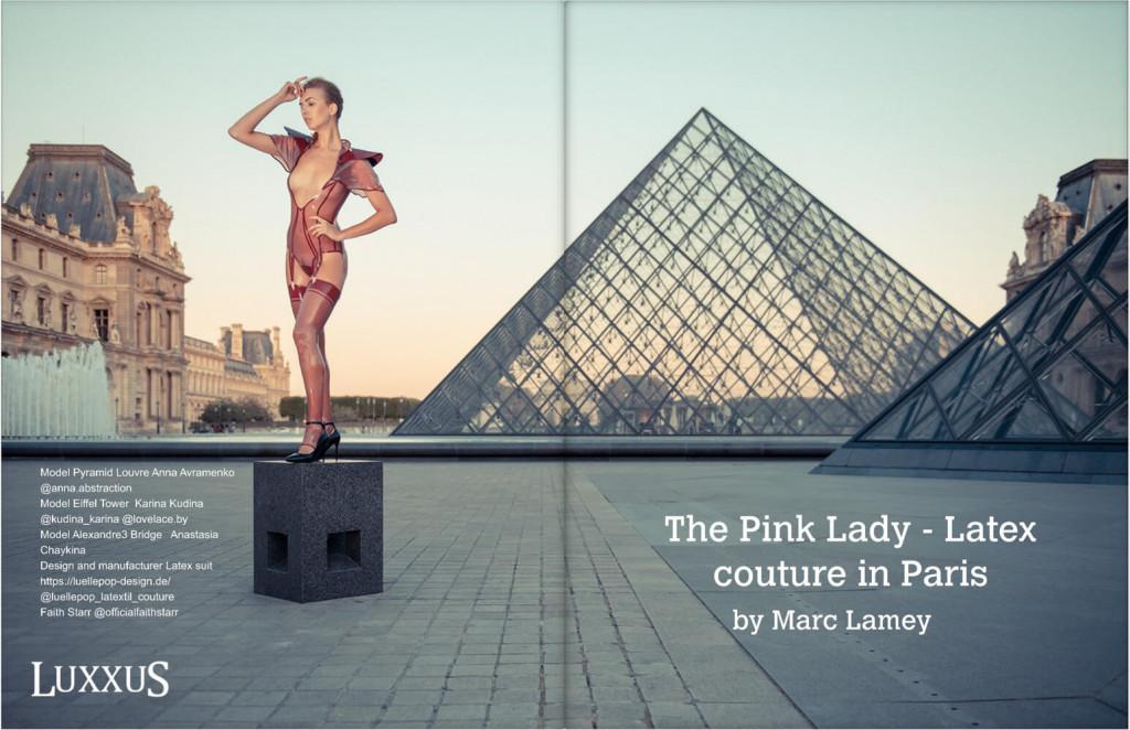 Editorial mit Lüllepop im Luxxus Magazin