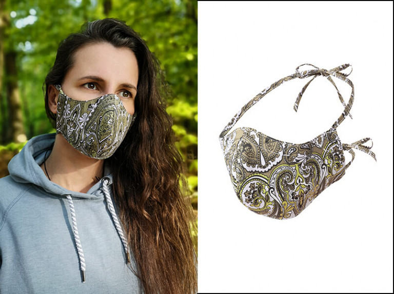 Mundmasken aus Baumwolle von Lüllepop